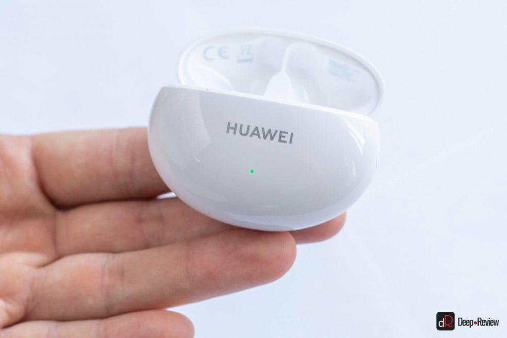 индикатор заряда на huawei freebuds 4i