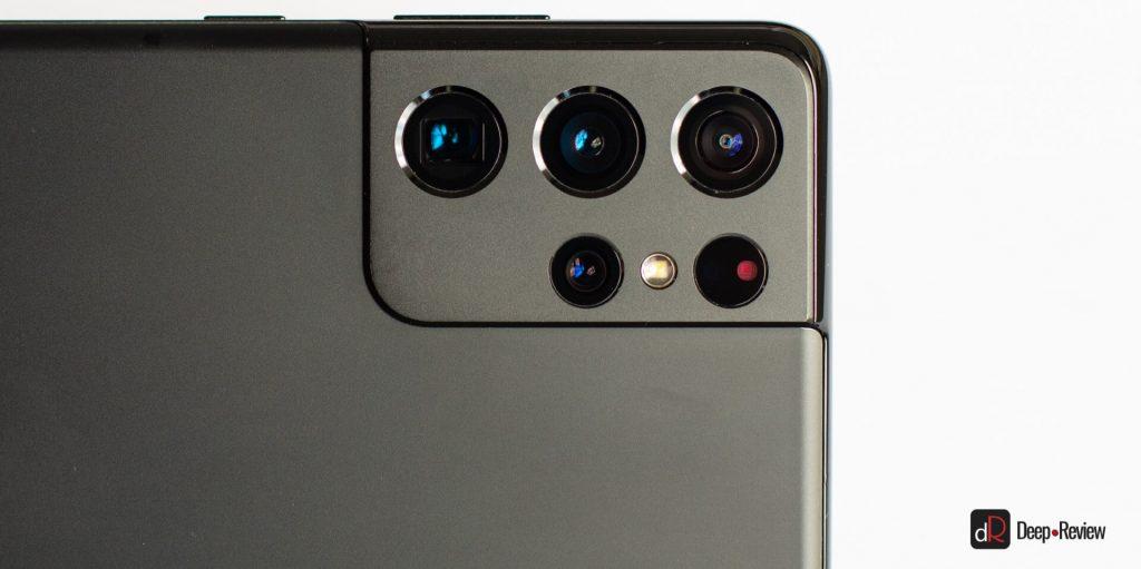 просветление линз в смартфоне galaxy s21 ultra