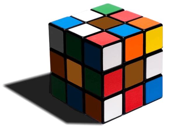 оптическая иллюзия с кубиком