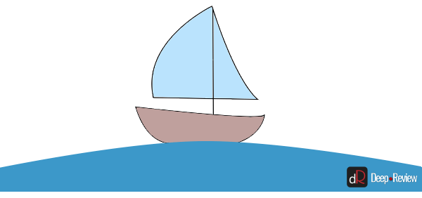 корабль на длинных волнах