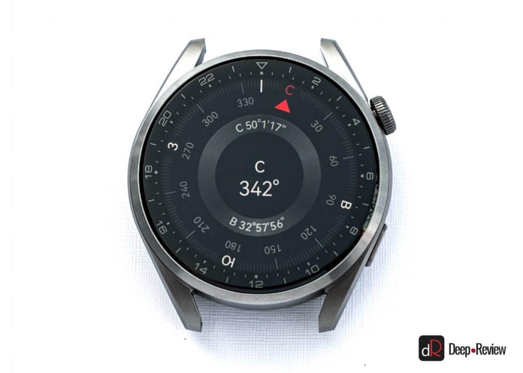 компас на huawei watch 3 pro