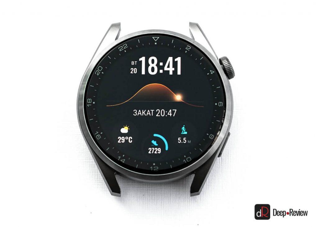 дисплей huawei watch 3 pro