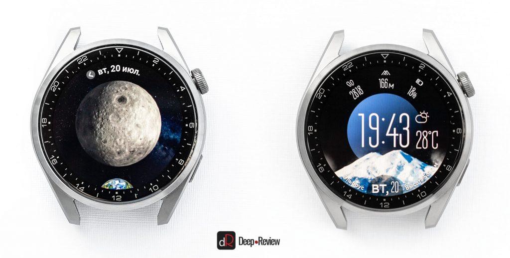 различные циферблаты huawei watch 3 pro