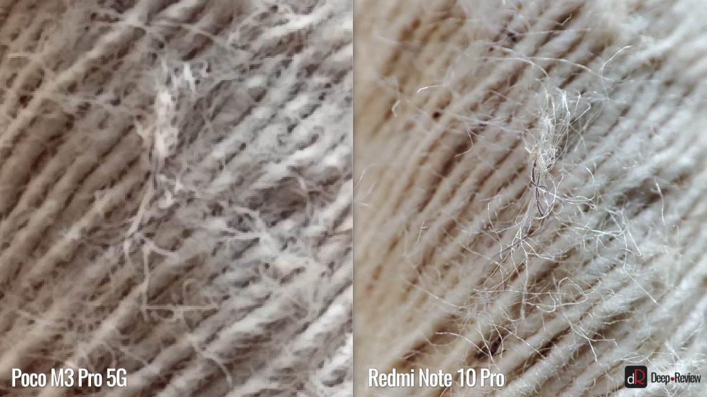 сравнение макро-камер poco m3 pro 5g и redmi note 10 pro