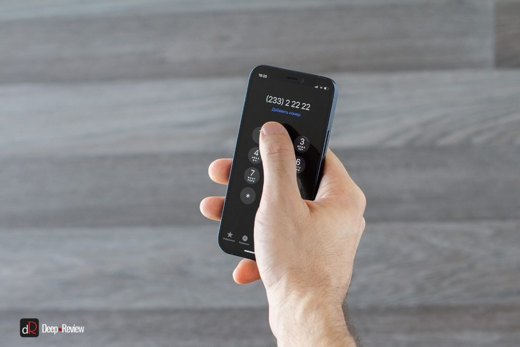 использование iphone 12 mini одной рукой