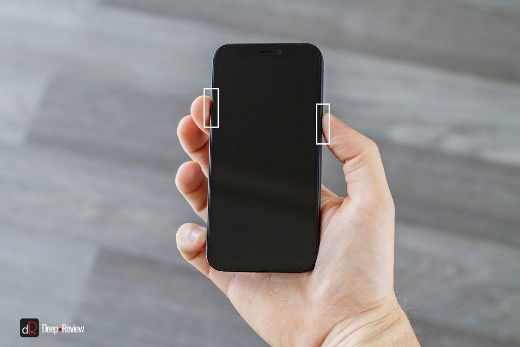 не самая лучшая эргономика iphone 12 mini