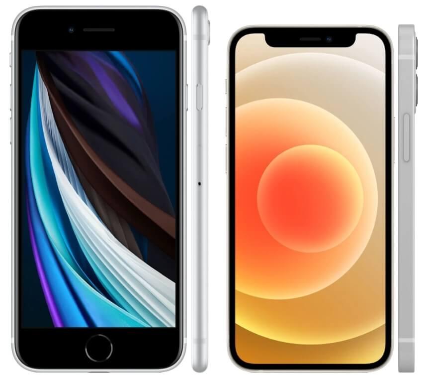 iphone 12 mini против se 2020