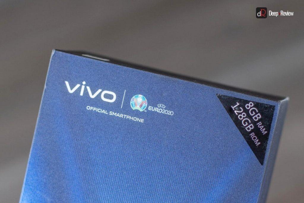коробка от vivo v21 с евро 2020