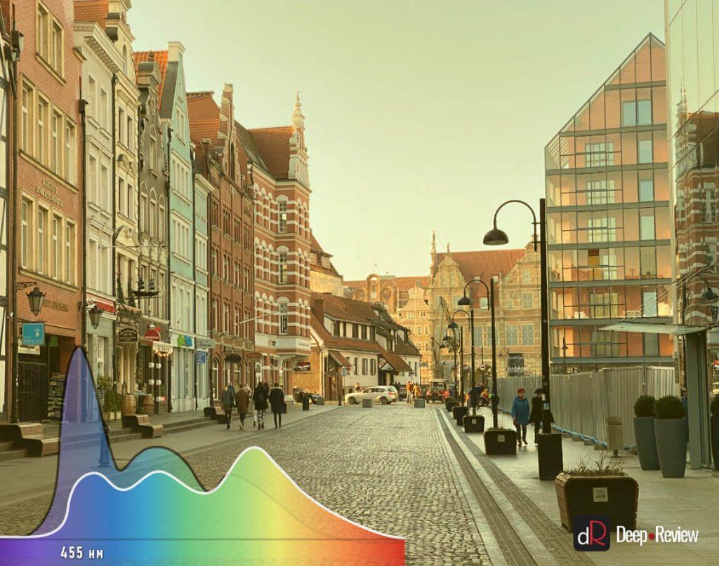 низкокачественный фильтр синего света