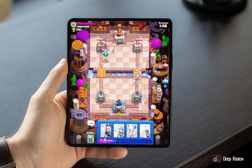 игры на весь экран galaxy fold 3
