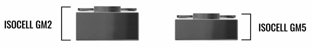 сравнение модулей камеры isocell gm2 и gm5
