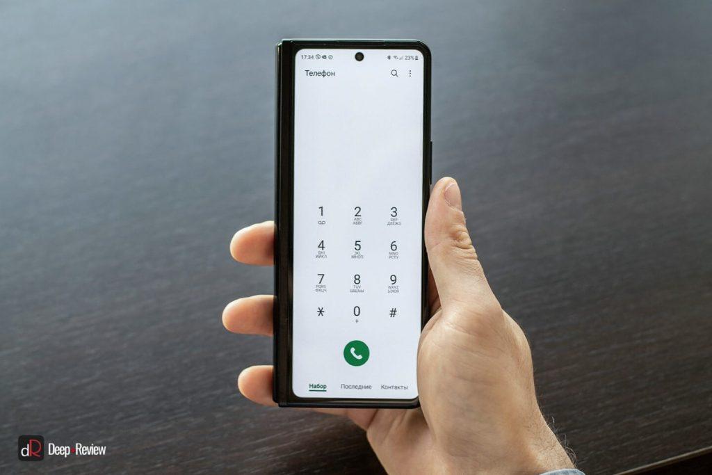 galaxy fold 3 в качестве телефона