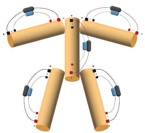 как должна выглядеть схема измерения биоимпеданса